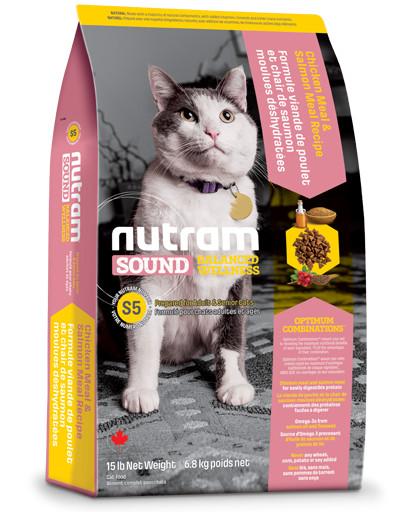 Nutram Sound Balanced Welness Adult S5 kattenvoer