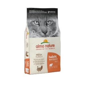 Afbeelding van 12 kg Holistic Adult Kalkoen en Rijst Almo Nature kattenvoer