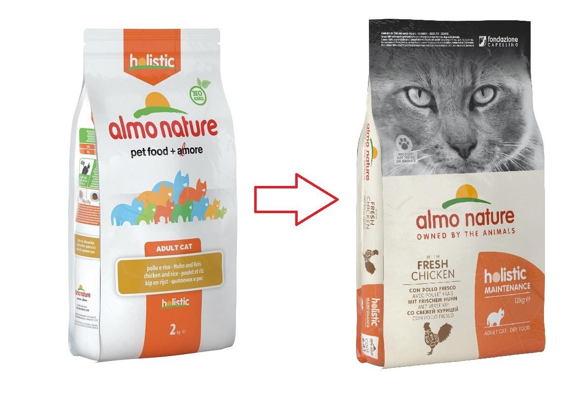 Almo Nature Holistic Adult Kip en Rijst kattenvoer