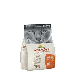Afbeelding van 2x2 kg Holistic Adult Rund & Rijst Almo Nature kattenvoer