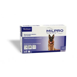 Milpro Grote Hond 8 Tabletten