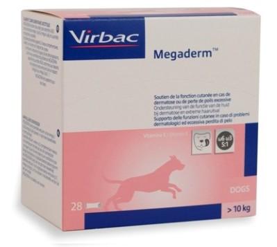 Virbac Megaderm Monodosering - hond vanaf 10 kg/ 28 zakjes