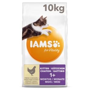 Iams For Vitality Kitten Kip Kattenvoer