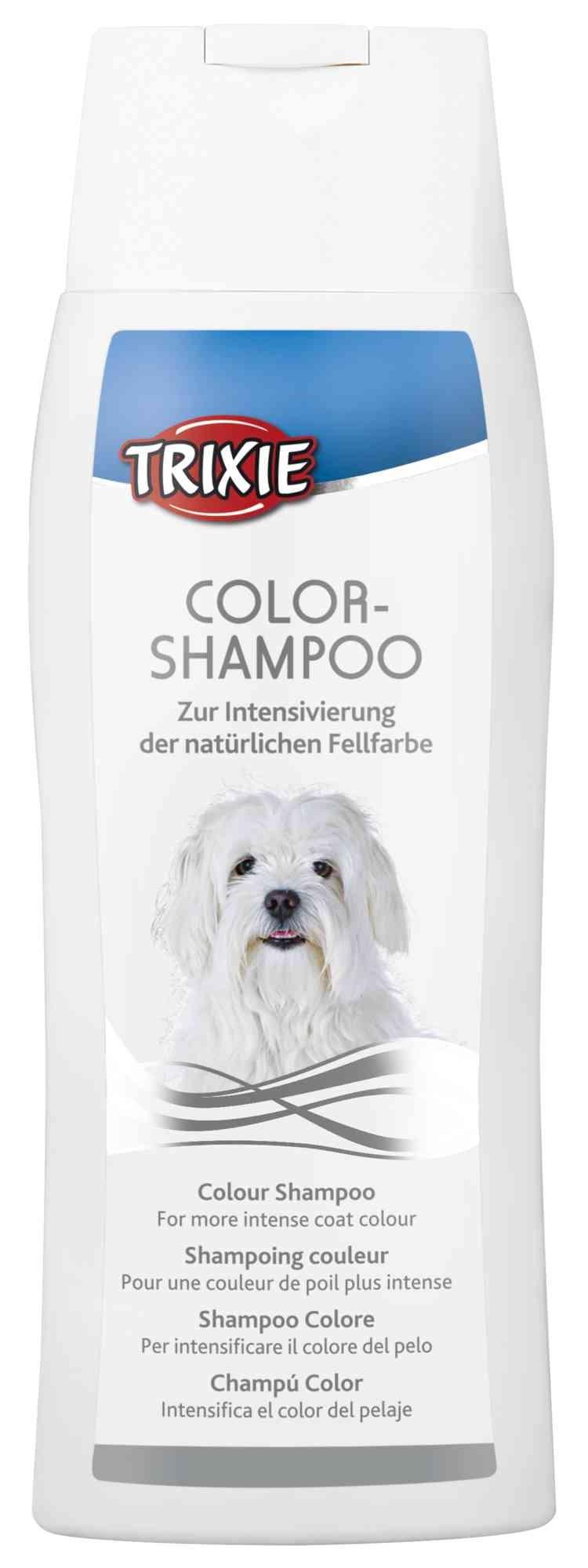 Colour Shampoo voor witte- of zwarte vacht voor de hond