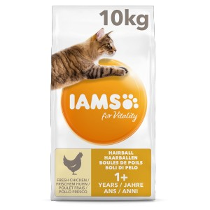 Iams For Vitality Adult Hairball Kattenvoer