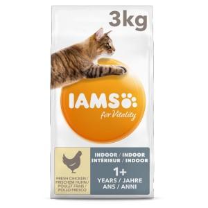 Iams for Vitality Adult Indoor kattenvoer 2 x 10 kg
