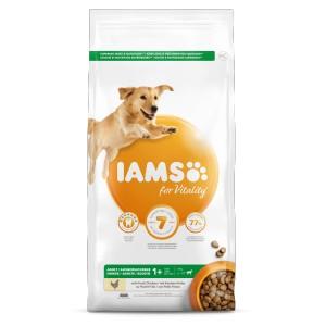 Iams for Vitality Adult Large Kip hondenvoer 2 x 3 kg