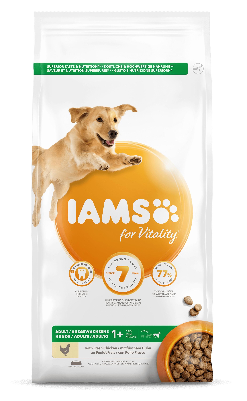 Iams for Vitality Adult Large Kip hondenvoer