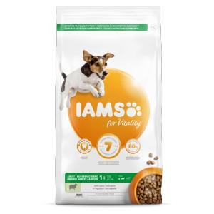 Iams for Vitality Adult Small & Medium Lam hondenvoer 12 kg