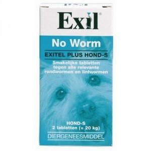 Exil Exitel Plus Hond S per verpakking