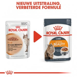 Royal Canin Pouch Intense Beauty kattenvoer x12