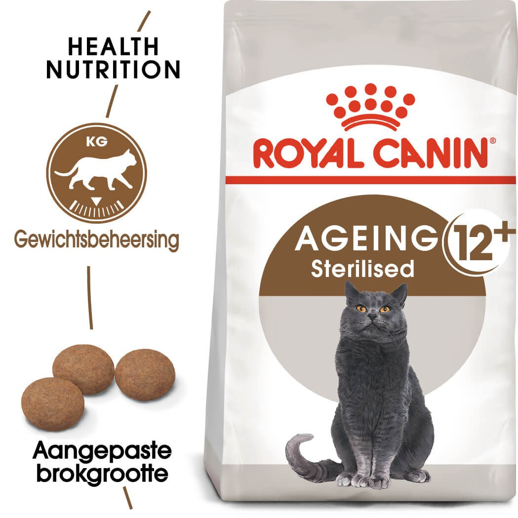 Royal Canin Ageing Sterilised 12+ kattenvoer