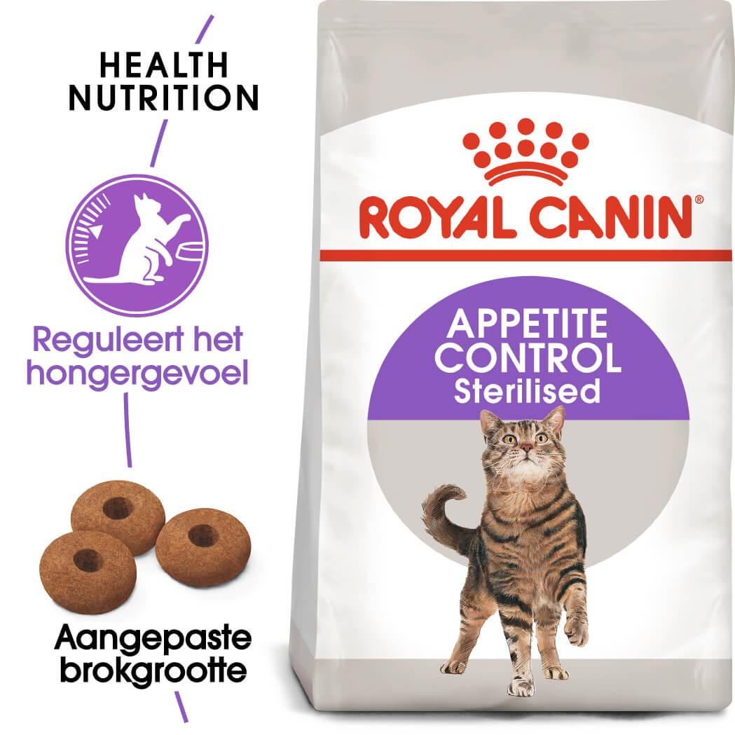 Royal Canin Sterilised Appetite Control kattenvoer