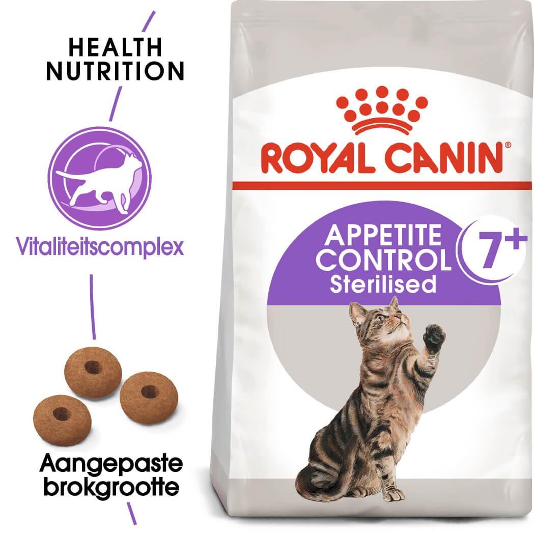 Royal Canin Sterilised Appetite Control 7+ kattenvoer