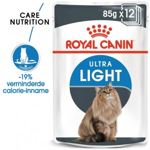Royal Canin Pouch Ultra Light kattenvoer x12