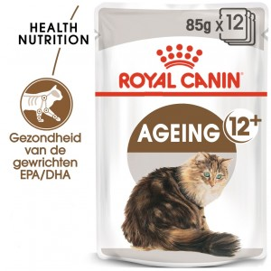 Royal Canin Ageing 12+ nat kattenvoer 12 zakjes