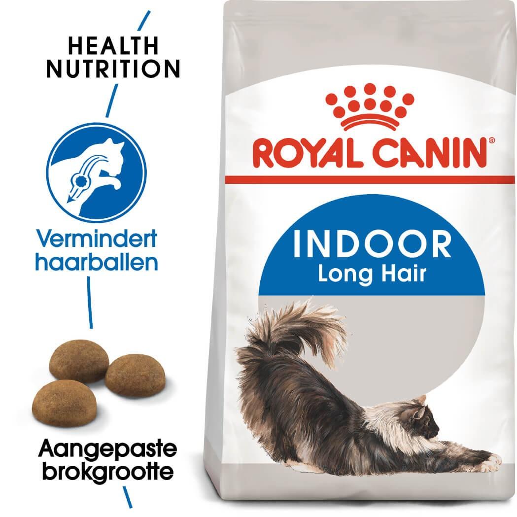 Royal Canin Indoor Long Hair kattenvoer
