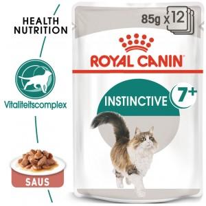 Royal Canin Pouch Instinctive 7+ kattenvoer in gravy 12x