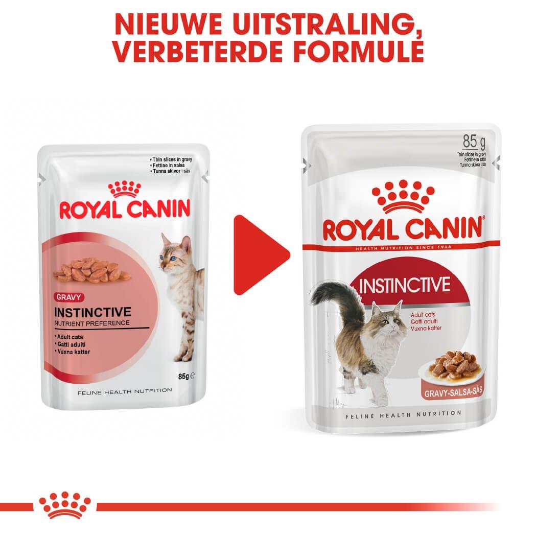 Royal Canin Pouch Adult Instinctive kattenvoer