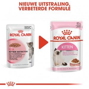 Royal Canin Kitten natvoer x12