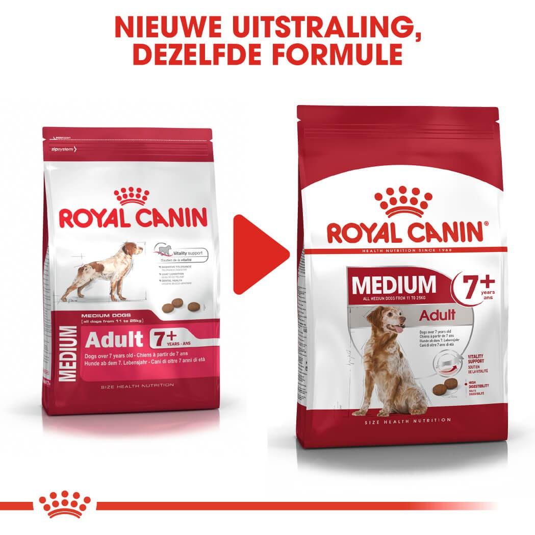 Royal Canin Medium Adult 7+ hondenvoer