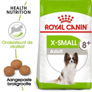Royal Canin X-Small Adult 8+ hondenvoer