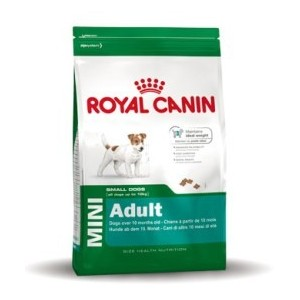 Royal Canin Mini adult Hondenvoer 2 x (8 kg 1 kg)