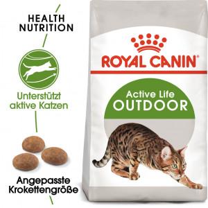 Afbeelding Royal Canin Outdoor kattenvoer 2 kg door Brekz.nl