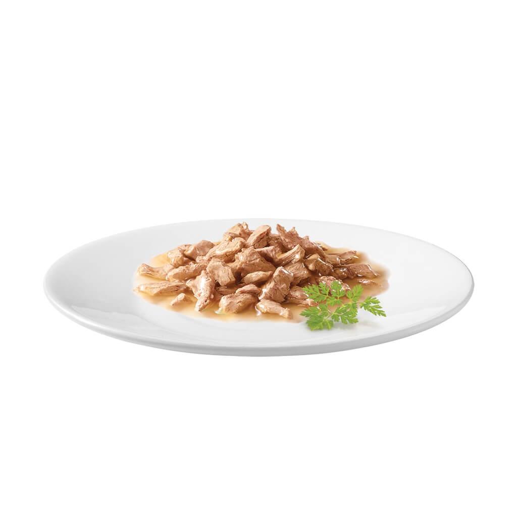 Gourmet Mon Petit Vlees (6x50g) kattenvoer