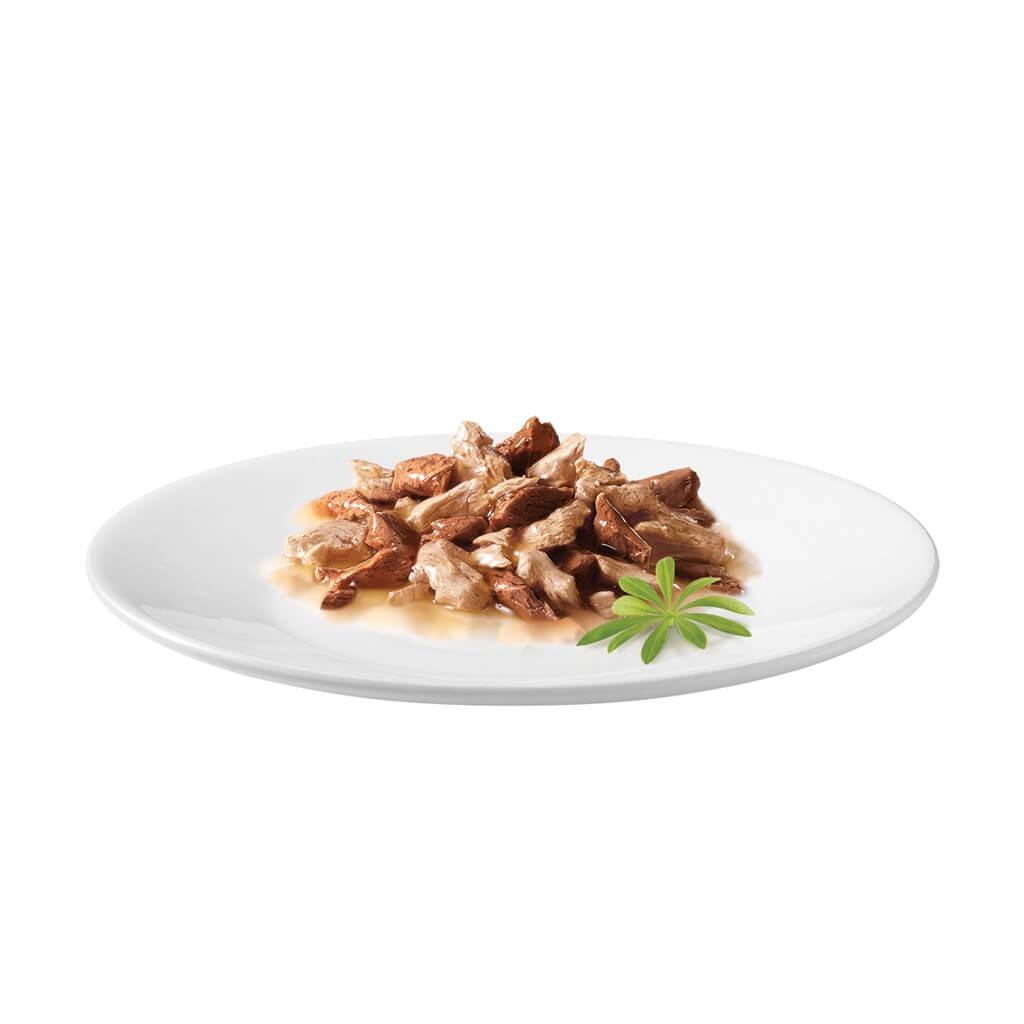 Gourmet Mon Petit Duo Vlees (6x50g) kattenvoer
