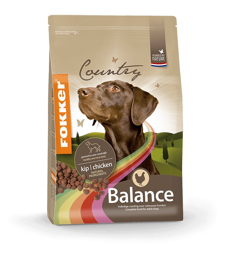 Fokker Country Balance hondenvoer