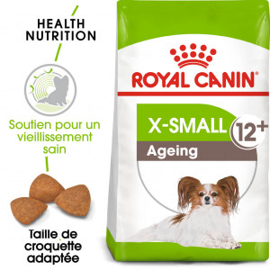 Afbeelding Royal Canin X-Small Ageing 12+ hondenvoer 1.5 kg door Brekz.nl