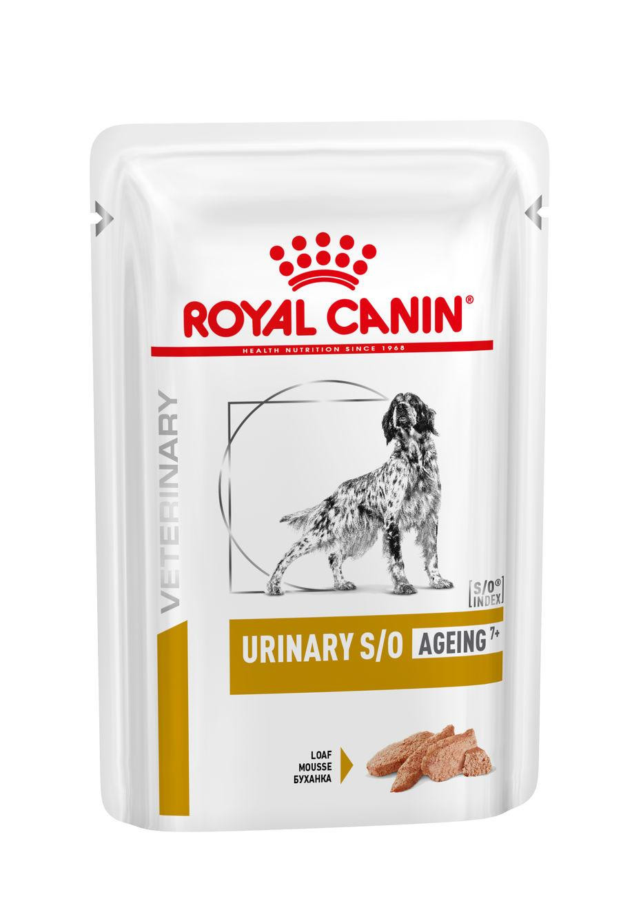 Royal Canin Urinary S/O Ageing 7+ Pouch 85 gr hondenvoer