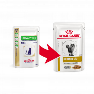 Royal Canin Veterinary Diet Urinary S/O Moderate Calorie Vis (zakjes) kattenvoer OP is OP