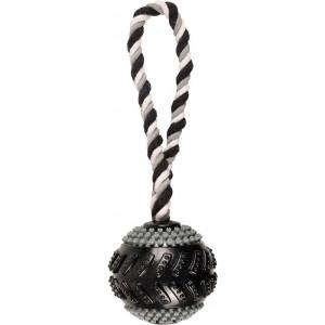 Gladiator Curling Ball met touw voor de hond