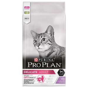 Pro Plan Adult Delicate Optirenal kattenvoer 10 kg