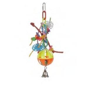 Plastic Agapornide Vogeltouw Uno 0010480 OP is OP