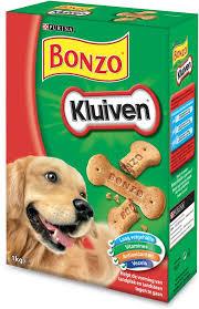 Bonzo Hapkluiven voor de hond
