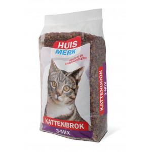 Huismerk Kattenbrok 3 Mix Kattenvoer 10 kg
