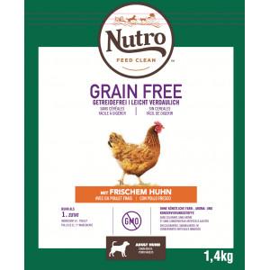Nutro Grain Free Adult Medium Kip hondenvoer 2 x 11,5 kg