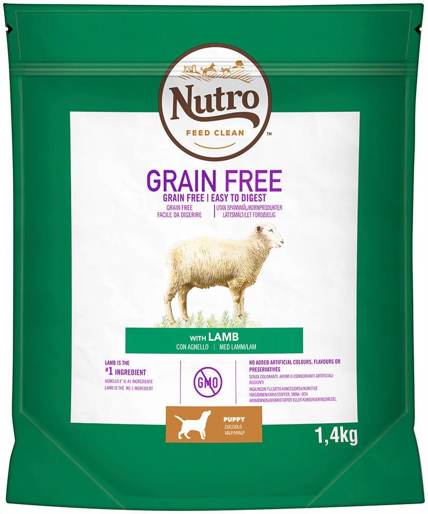 Nutro Grain Free Puppy Medium Lam hondenvoer
