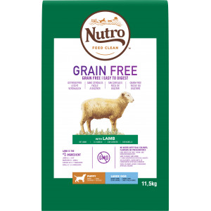 Nutro Grain Free Puppy Large Lam hondenvoer 2 x 11,5 kg