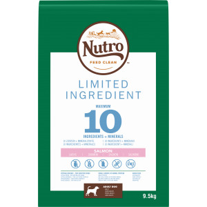 Nutro Limited Ingredient Adult Zalm hondenvoer 3 x 1.4 kg