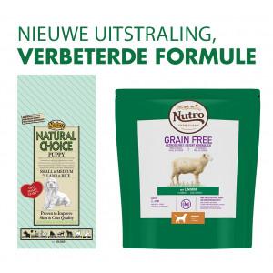 Nutro Choice Puppy Small/Medium Lam & Rijst hondenvoer