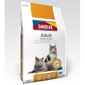 Smølke Adult Chicken Rice kattenvoer 2 kg