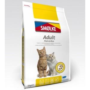Smølke Adult Fish & Rice kattenvoer ACTIE
