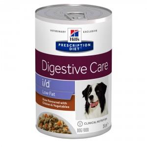 Hill's Prescription Diet I/D Low Fat Stoofpotje 354 g blik hondenvoer