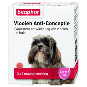 Beaphar Vlooien Anti-Conceptie (2,6 tot 6,7 kg) hond
