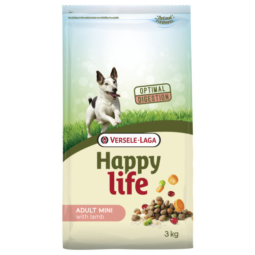 Happy Life Adult Mini Lamb hondenvoer