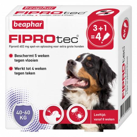 Beaphar Fiprotec Spot-On voor honden van 40 tot 60 kg